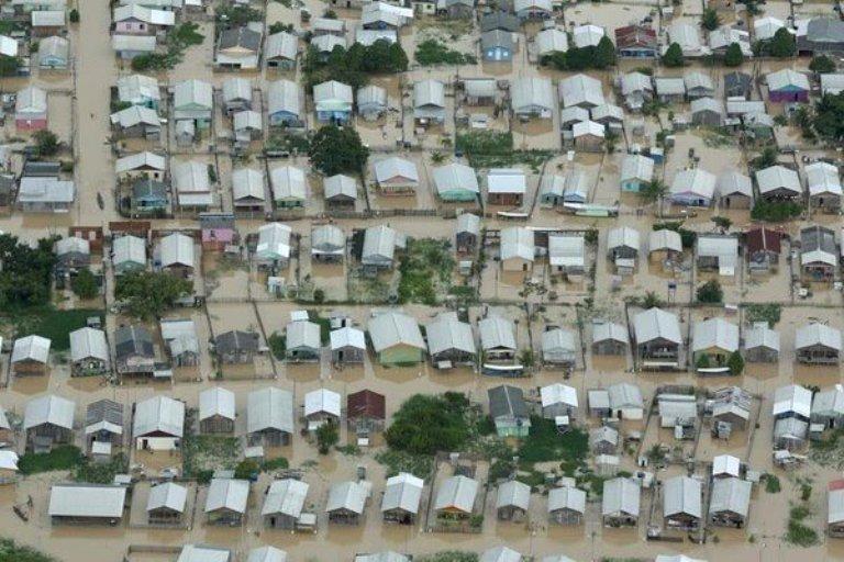 Emergencia climática en Brasil: las inundaciones en el estado de Acre afectan a más de 130.000 personas y diez ciudades