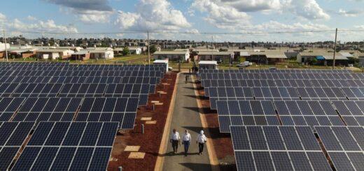 Ultiman detalles para poner en funcionamiento la central solar Itaembé Guazú