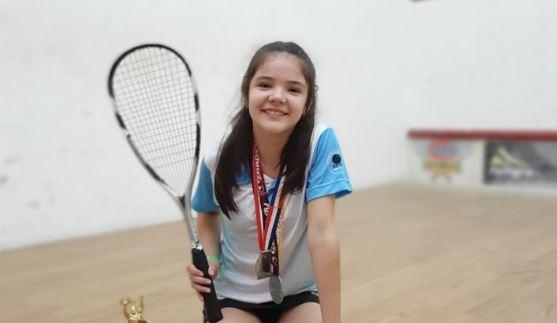 """Squash: """"Voy a buscar un podio en el Panamericano"""", se ilusionó Paula Rivero, misionera que cruzará las fronteras para competir"""