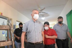 Vuelta a clases en Misiones: entregaron barbijos, alcohol y elementos de limpieza en el BOP 28 de Colonia Delicia