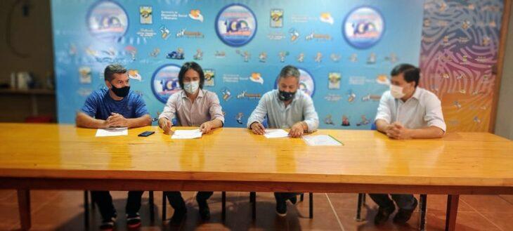 Montecarlo firmó un convenio de colaboración mutua con el Ministerio de Deporte