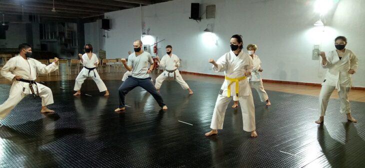 Karate: comenzaron las clases presenciales en distintas instituciones de Misiones