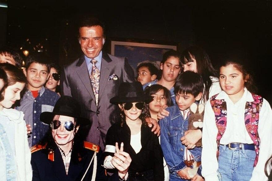 #MurióMenem. El expresidente y su relación con el mundo del espectáculo