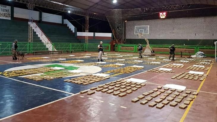 Prefectura decomisó más de 1.300 kilos de marihuana en Puerto Libertad