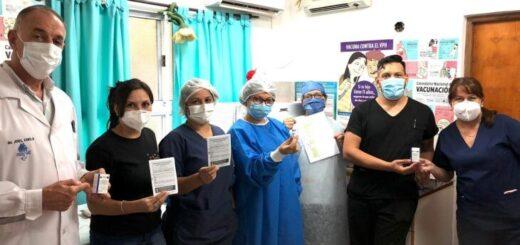 Misiones: Puerto Rico comenzó el cronograma de vacunación con la vacuna Covishield