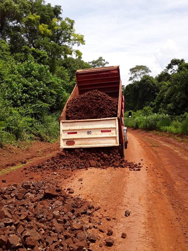 Vialidad Provincial realiza tareas de conservación en la red vial terrada