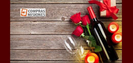 Día de San Valentín: ComprasMisiones.com.ar presenta combos de vinos y chocolates, los infaltables en esta ocasión especial