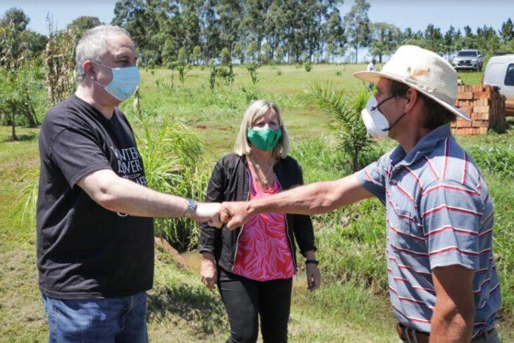 """Passalacqua retomó su gira de visitas a emprendedores misioneros y consideró """"un honor acompañar a quienes ponen el hombro en estos momentos para salir adelante"""""""