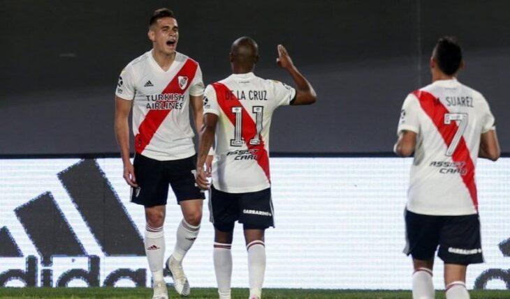 Copa de la Liga Profesional de Fútbol: River ganó por 3-0 ante Rosario Central
