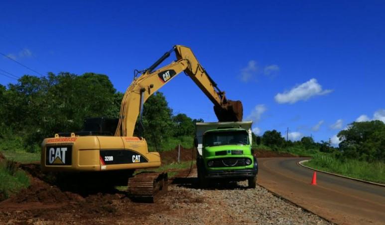 Vialidad de Misiones: avanza la puesta en valor del ingreso a El Soberbio por la Ruta Provincial Nº13