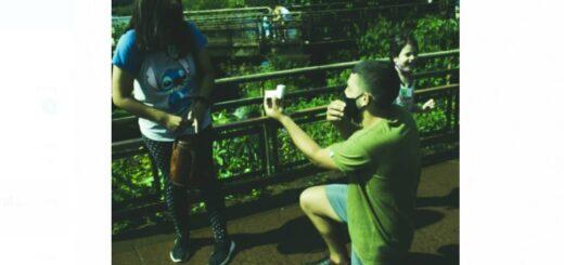 """Video viral desde las Cataratas del Iguazú: """"Quise pedirle matrimonio en una Maravilla del Mundo a una maravilla de mujer"""""""