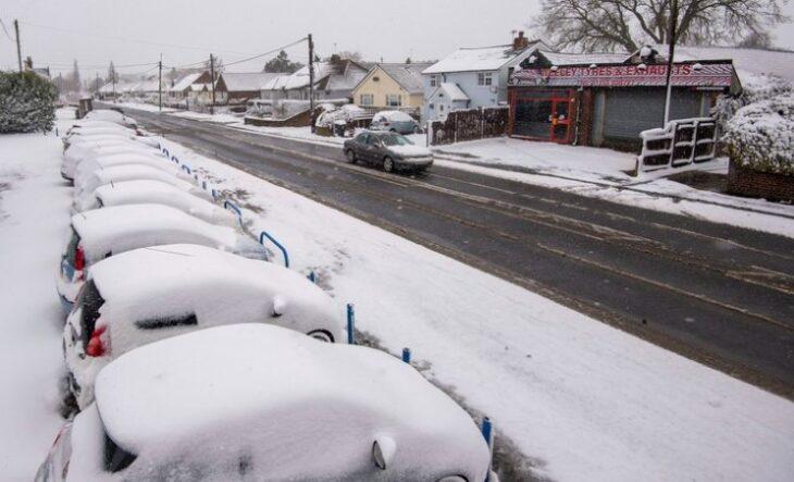 El Norte de Europa afronta un severo temporal de nieve y frío