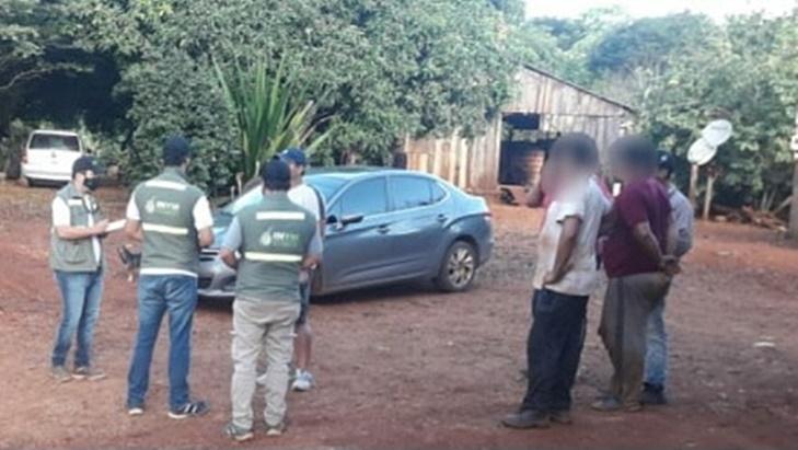Detectaron otro punto de acopio ilegal de yerba mate en San Pedro