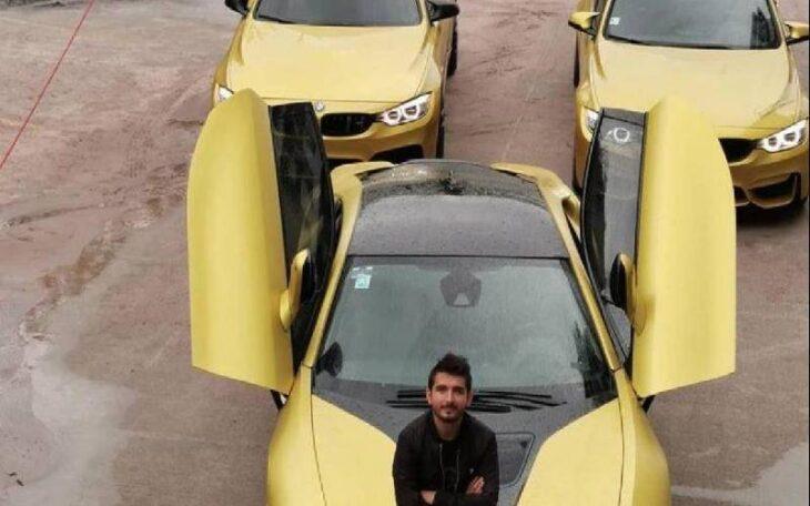 Un youtuber vendió sus autos de lujo para comprar tanques de oxígeno a los enfermos de coronavirus
