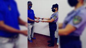 Dos celulares robados en Posadas fueron recuperados y detuvieron a un joven
