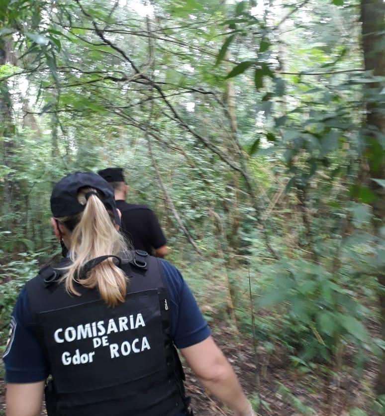 Intensifican los operativos de búsqueda en Gobernador Roca del prófugo que baleó a dos hombres