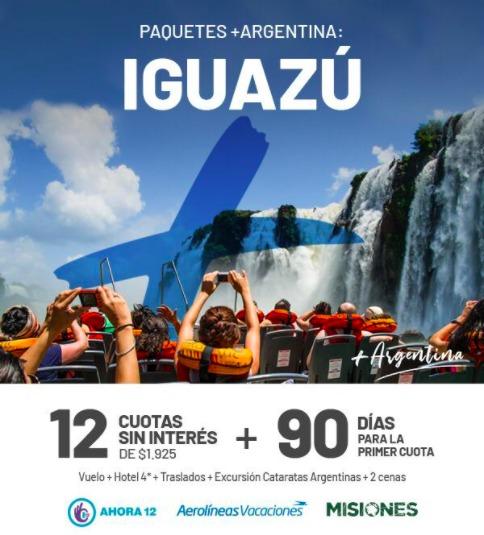 Tras la reunión con Herrera Ahuad, desde Aerolíneas Argentinas lanzan paquetes para visitar Iguazú desde distintos puntos del país