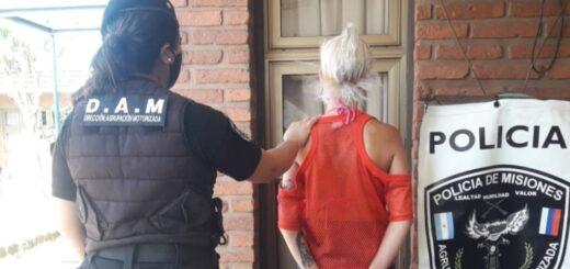Amenazó a la empleada de una peluquería del centro de Posadas, quiso llevarse objetos y terminó presa
