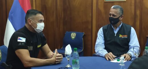 Se reunieron el jefe de la Policía de Misiones y el Defensor del Pueblo de Posadas