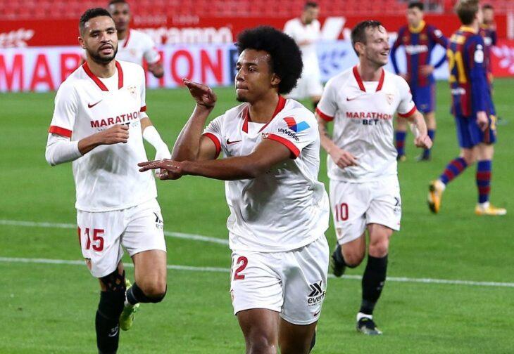 Con Messi en cancha, Sevilla se impuso ante Barcelona en la ida de la Copa del Rey
