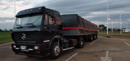 Interceptan otro camión cargado con soja con destino a Brasil