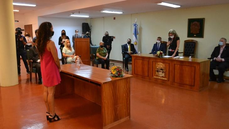 El Superior Tribunal de Justicia de Misiones tomó juramento para cargos en Iguazú y San Pedro
