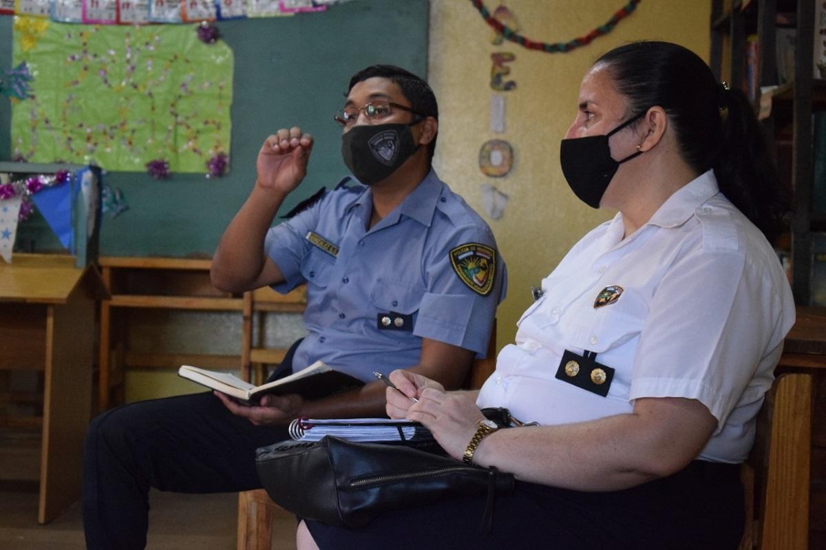 Chacra 252: vecinos, policía comunitaria y Defensoría del Pueblo, diagraman trabajo en conjunto