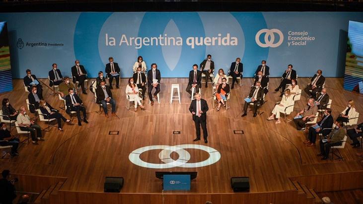 """En la presentación del Consejo Económico y Social, Alberto Fernández convocó a """"hacer una sociedad más justa"""" y llamó a """"construir el futuro entre todos"""""""