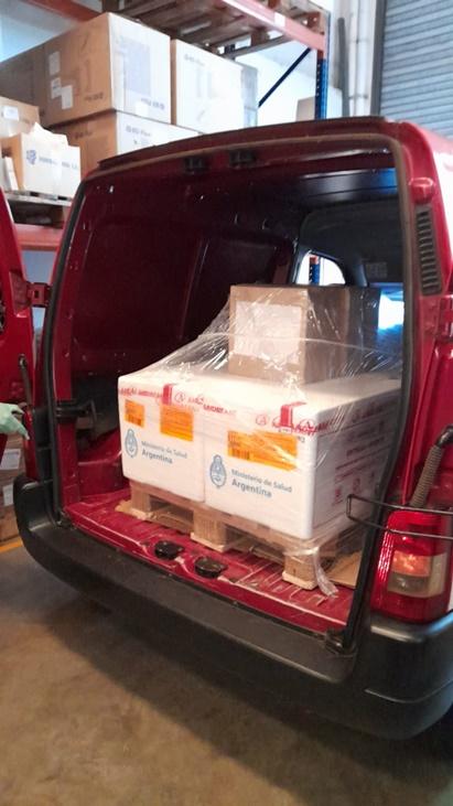 Coronavirus en Misiones: llegaron 14.500 vacunas Covishield