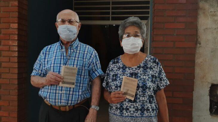 Vacunados y contentos por la organización, los adultos mayores de 75 años de Posadas recibieron la primera dosis de la Sputnik V