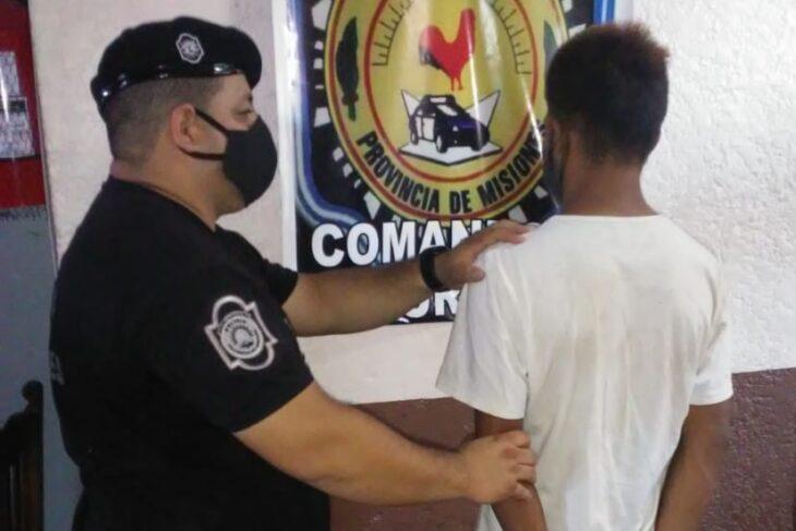 Posadas: robó una billetera e intentó huir pero la policía logró detenerlo