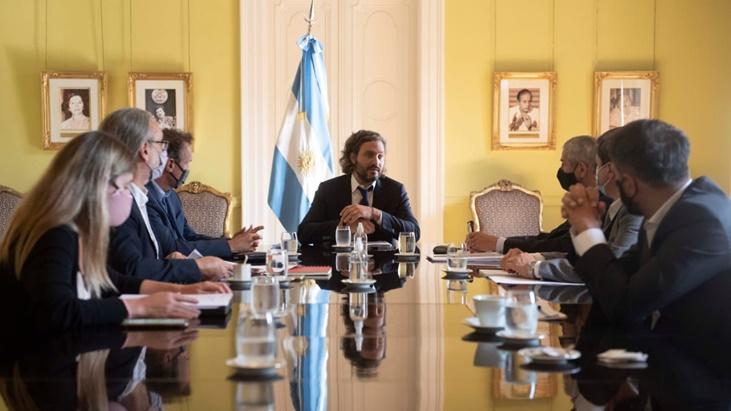 Cafiero encabezó una reunión con el Gabinete de Planificación Urbana y Hábitat: «Hay mil obras en marcha en el país», aseguraron