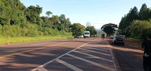 Eldorado: murió un peatón tras ser embestido por un automóvil sobre Ruta Nacional 12