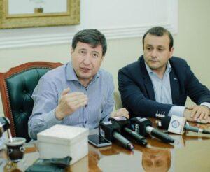Herrera Ahuad mantendrá este lunes una serie de reuniones con Ferraresi, Lammens y Arroyo