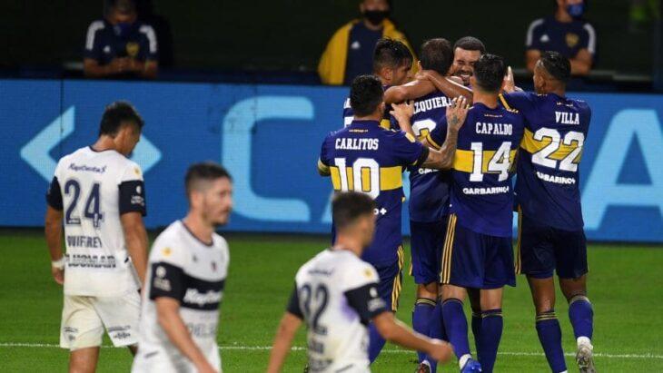Copa de la Liga Profesional: Boca igualó con Gimnasia 2-2 en La Bombonera