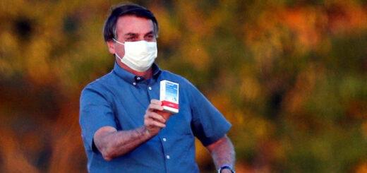 """No maté a nadie"": Bolsonaro confiesa que la hidroxicloroquina no sirve"