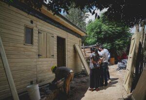 A un mes del terremoto en San Juan, las primeras 8 viviendas donadas por Misiones ya están habitadas