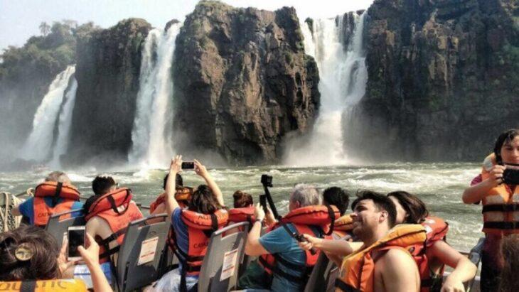 Visit7Wonders: Más de 26.000 personas visitaron las Cataratas del Iguazú en enero