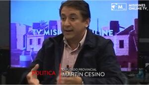 """Elecciones 2021: """"Votar en junio nos permitirá en este tiempo debatir los temas que les interesan a los misioneros"""", consideró Martín Cesino"""
