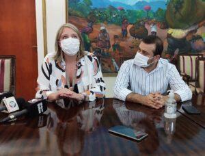 Autoridades del Correo Oficial recorrieron centros de vacunación, avanzaron en el acuerdo para venta online de productos misioneros y los preparativos para las primeras elecciones del país