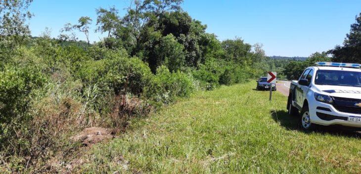Murió un automovilista tras despistar en la Ruta Nacional 14