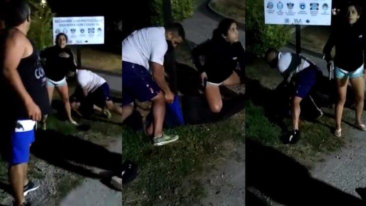 Brutal femicidio a puñaladas en pleno centro de Villa La Angostura