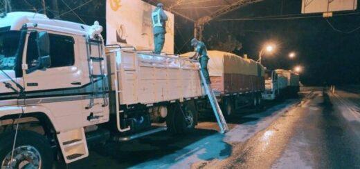El incremento del tráfico ilegal de cereales hizo que se intensificaran los controles de las fuerzas de seguridad en las rutas hacia provincias con fronteras internacionales