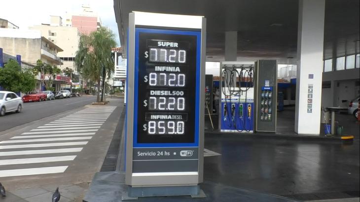 Aumentaron los combustibles un 1,2% en las estaciones de servicio de Posadas