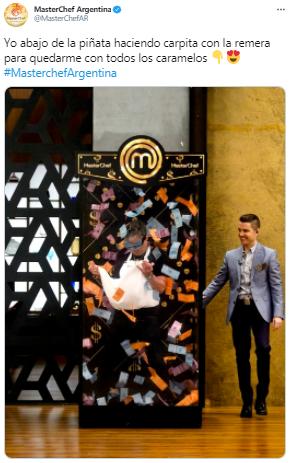 MasterChef Celebrity: Juanse usó una ingeniosa técnica en un desafío y estallaron los memes