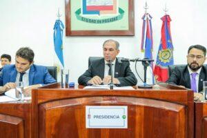 Con el discurso del intendente Stelatto, el lunes se inaugura un nuevo período de sesiones ordinarias del Concejo Deliberante de Posadas