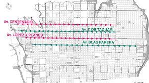 La Municipalidad de Posadas definirá la fecha de implementación del sistema de manos únicas de 4 avenidas