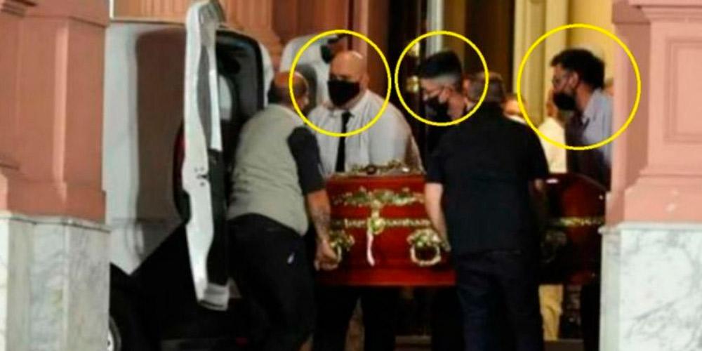 Citaron a declarar a los empleados de la funeraria que se sacaron fotos con el cuerpo de Diego Maradona