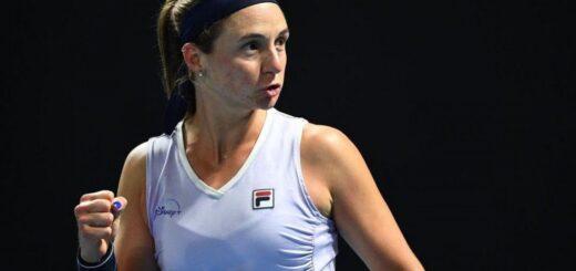 Tenis: Nadia Podoroska avanzó a la segunda ronda del Abierto de Australia