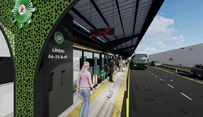 En pocos días se habilitará la parada sustentable de la calle Junín y a fin de mes, estarán operativas las avenidas de mano única en Posadas